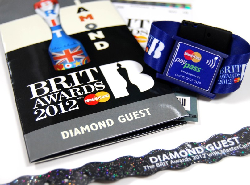 BRIT-Awards-Wristbands